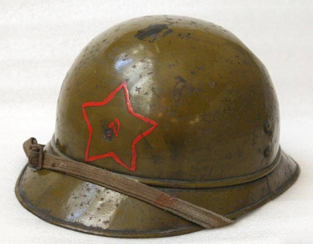Экспериментальный шлем РККА