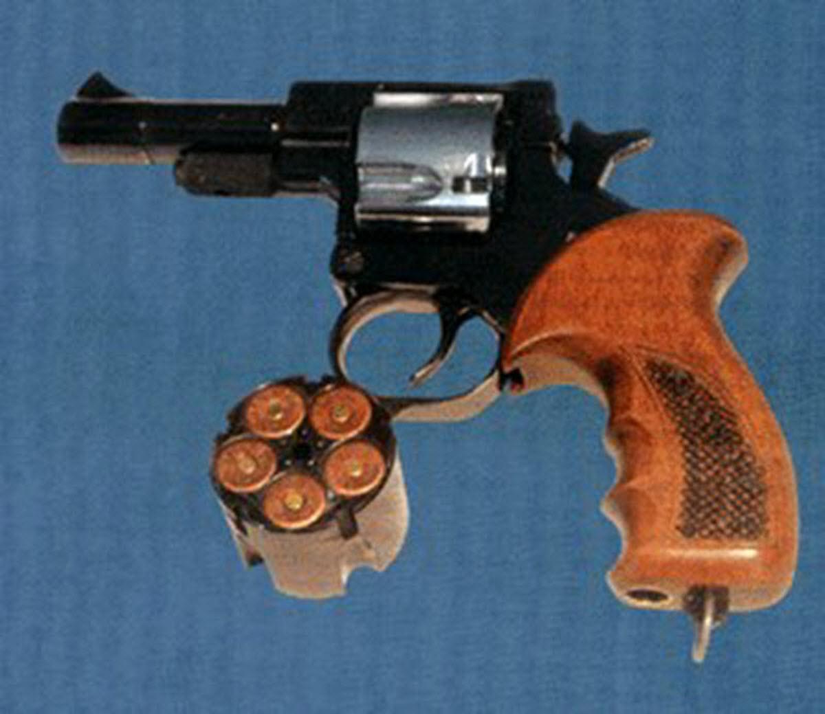 Крупнокалиберный револьвер РГ-1