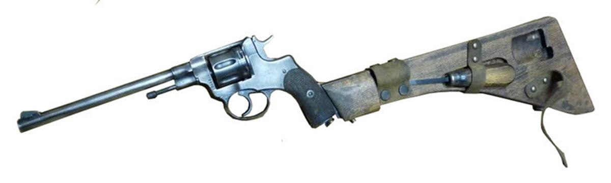 Инженерный карабин на базе револьвера Наган