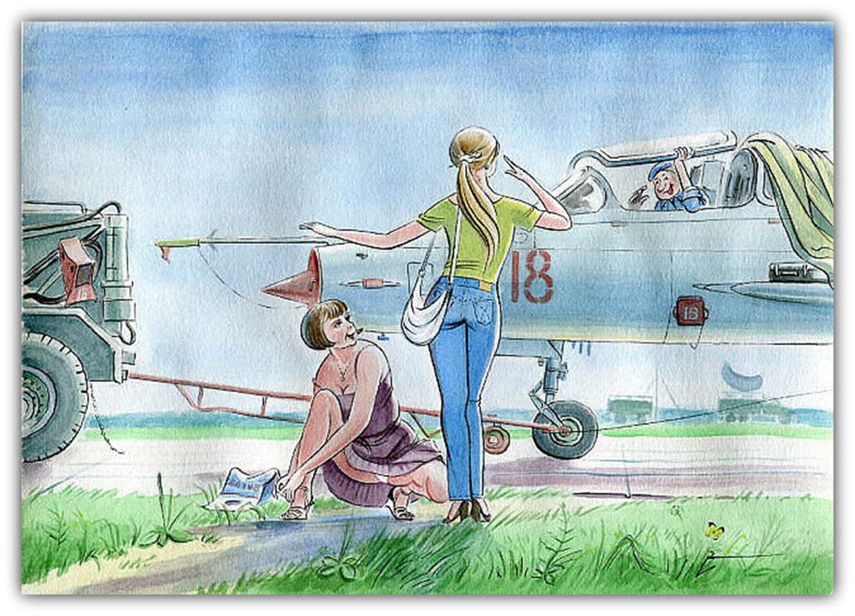 День воздушного флота картинки с юмором