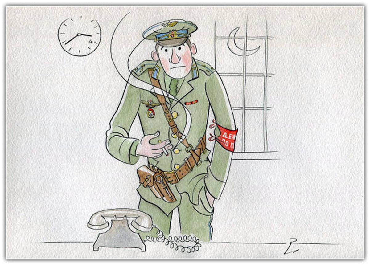 Открытки военного выпуска, предателю