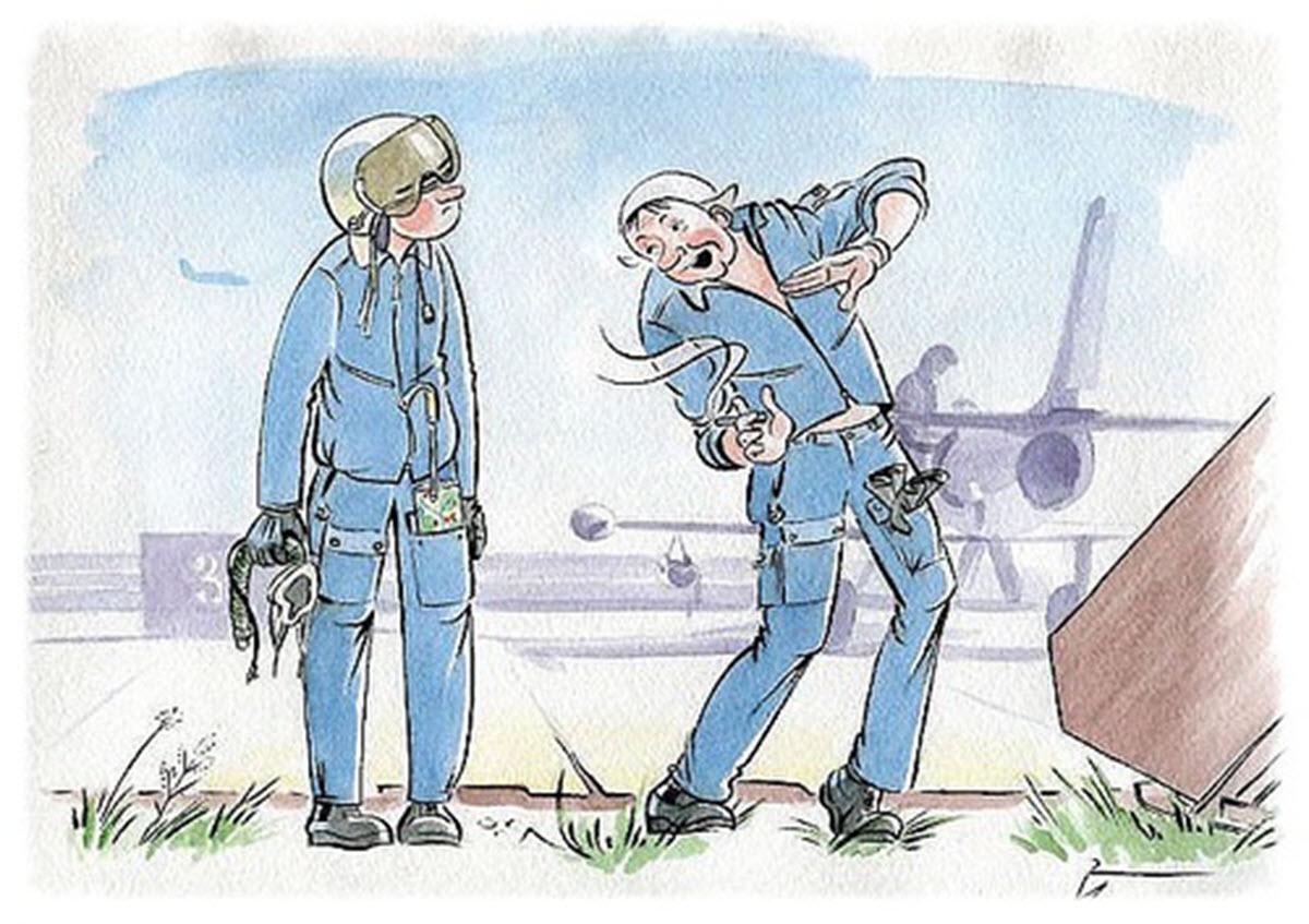 Днем, смешные картинки о летчиках