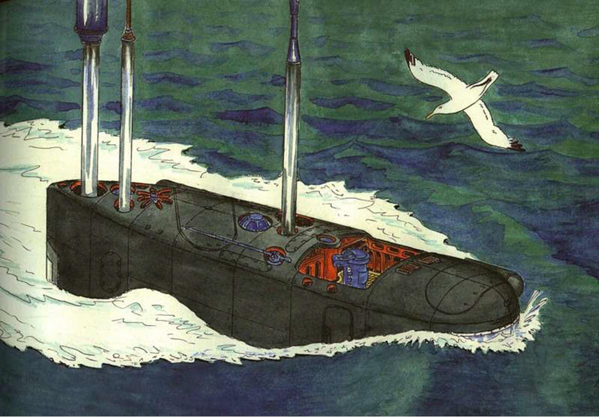 юмористические картинки о подводниках практически ничего