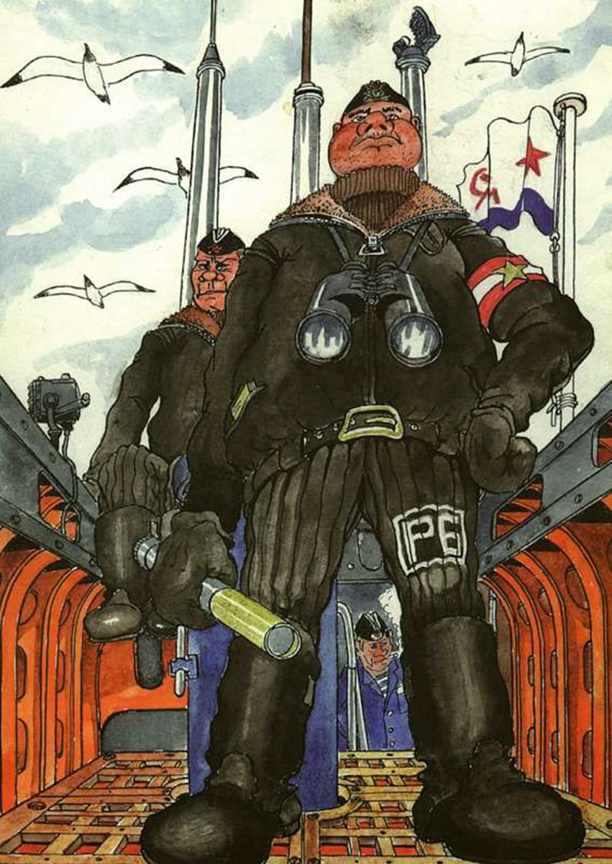 Смешные картинки подводников, надписью