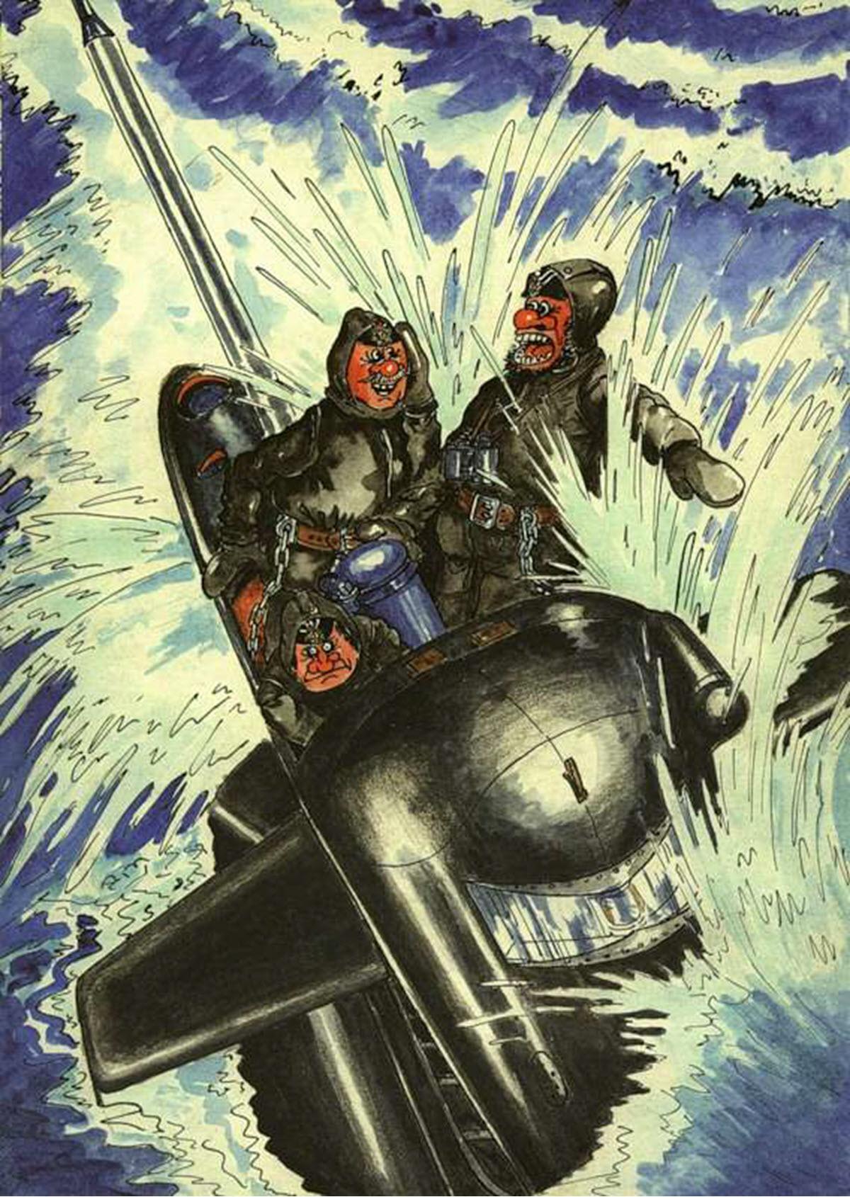 Днем рождения, смешные картинки подводников