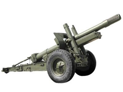 152-мм гаубица-пушка МЛ-20. №3