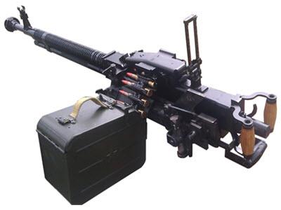 Пулемет ДШКМ-