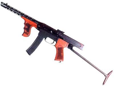 Опытный пистолет-пулемет Калашникова образца 1942 года