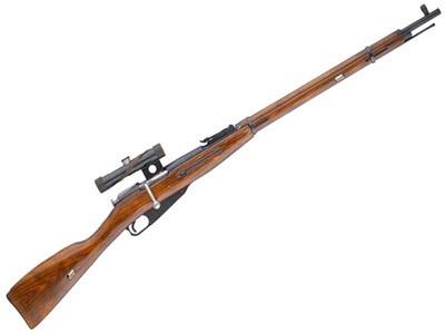 Снайперская винтовка Мосина