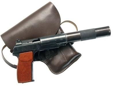 Бесшумный пистолет ПБ /  6ПБ-9 / 6П9
