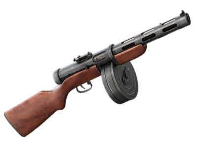 ППД-34 / ППД-34/38 / ППД-40 / Пистолет-пулемет Дегтярёва