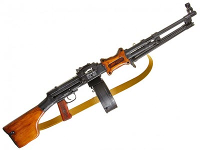 Пулемет РПД у солдат. Подборка-2