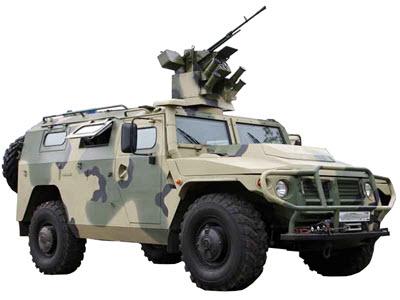 Бронеавтомобиль ГАЗ-233034 / СПМ-1 /