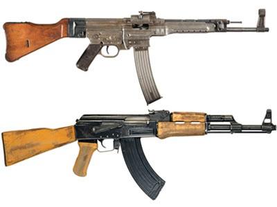 Сравнение АК-47 и STG-44