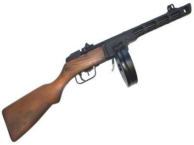 ППШ-41 / Пистолет-пулемет Шпагина