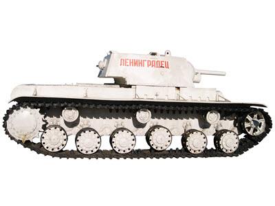 Танк КВ-1 зимний камуфляж