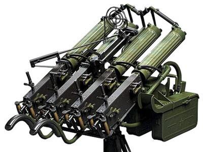 Счетверенный пулемет Максим / ЗПУ М4