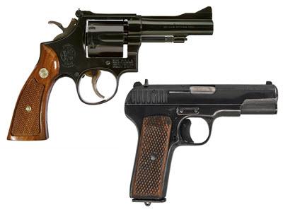 Пистолеты / Револверы