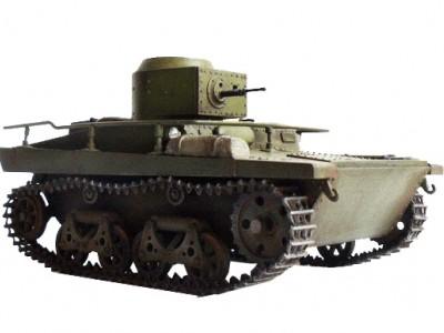 Плавающий танк Т-37А и Т-37РТ