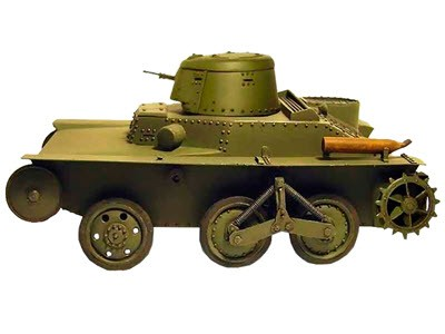 Плавающий танк Т-43