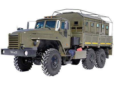 Бронемашина УРАЛ-4320